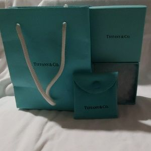 Tiffany & Co. Small gift bag set, box, pouch